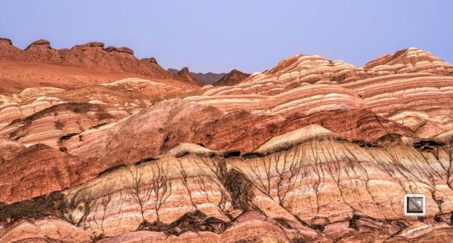 China - Gansu - Danxia Landform-13