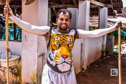 India - Kerala - Thrissur - Onam Festival - Pulikali-30