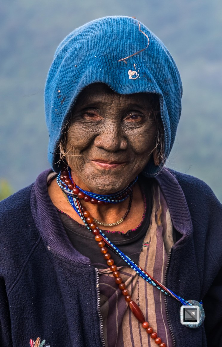 Myanmar Chin Tribe Portraits Color-27