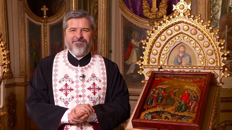 """Pr. VASILE IOANA: """"Căsnicia, cruce şi Înviere"""""""