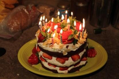 R.' 20th Birthday Cake