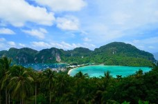 Umas das paisagens do View Point Kho Phi Phi