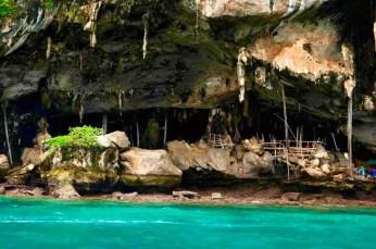 Viking cave- Não é possível chegar até a caverna