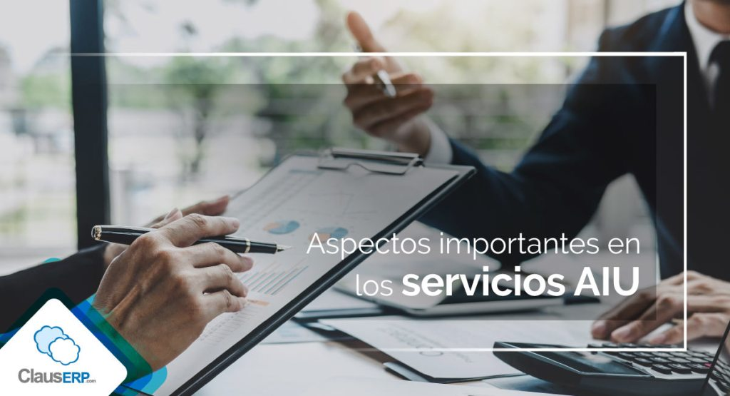 Aspectos en servicios con AIU - ClausERP