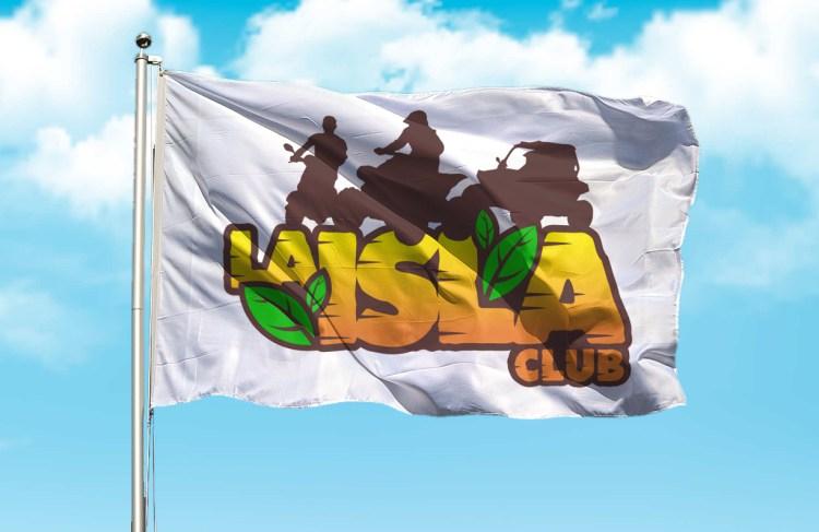 Club La Isla, Bandera