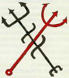 Tridente, símbolo de Exu