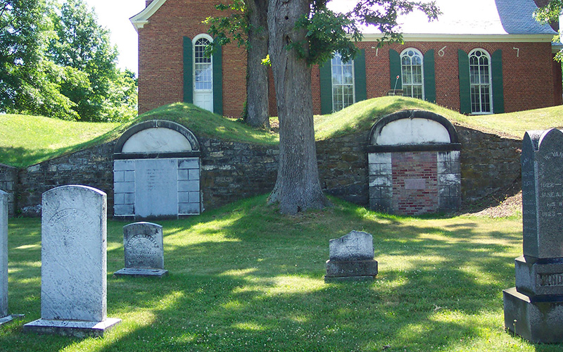 Reformed church of claverack vaults