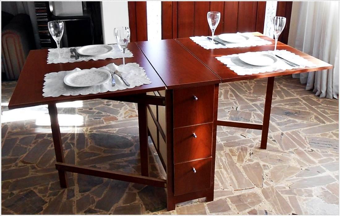 mesas-de-comedor-plegables-modernas Bumpertwit   Claves Decó