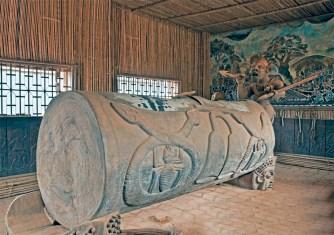 Tamburo di guerra del Sultano dei Bamoun a Founban