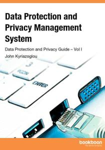 Livro Data Protection and Privacy Management System