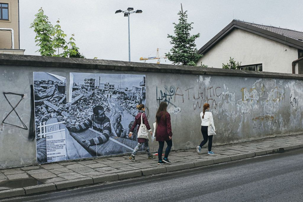 #Dysturb en Cracovia. © Ana Zaragoza