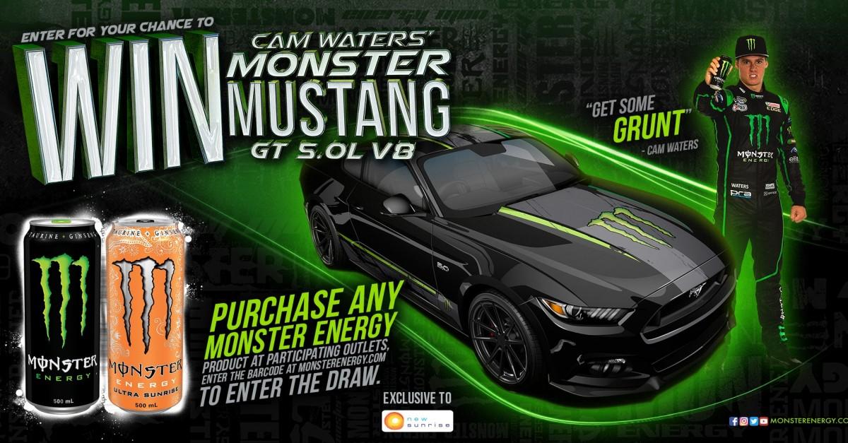 Rally Car Wallpaper Snow Win Cam Waters Monster Mustang Gt