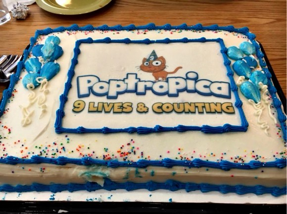 poptropicas-9th-birthday-cake