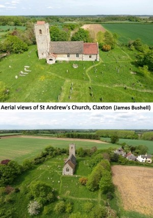 Aerial photos of At Andrew's Church