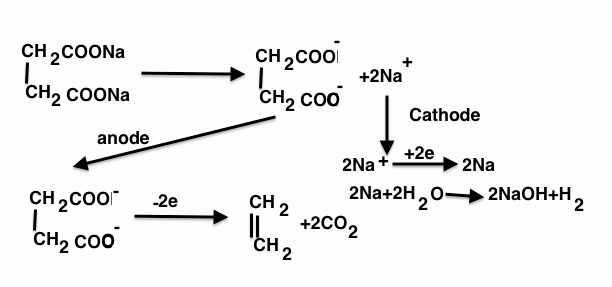 Which of the following yield both alkane and alkene