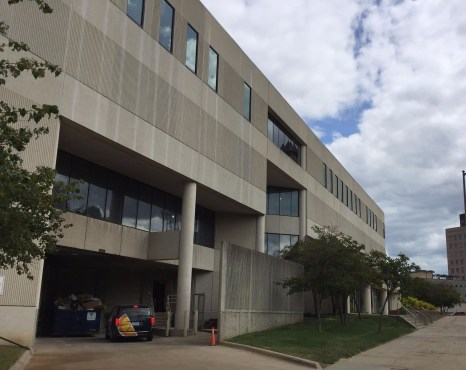 Mainframe Studios is located at 900 Keosauqua Way in downtown Des Moines.