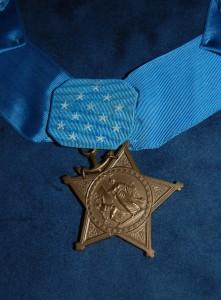 "Medal of Honor posthumously awarded to First Lt. Alexander ""Sandy"" Bonnyman, Jr."