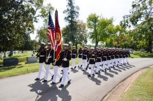 Alexander Bonnyman, Jr. funeral, Knoxville, Sept. 27, 2015