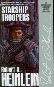 Heinlein's novel imagines a future in which only those who have served in the military may vote.