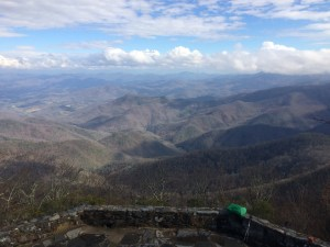 Appalachian Trail Wayah Bald