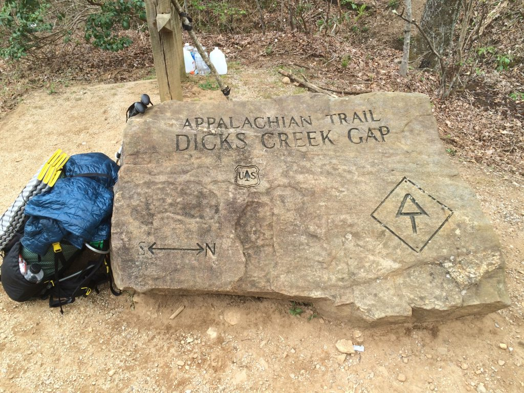 Appalachian Trail Dicks Creek Gap