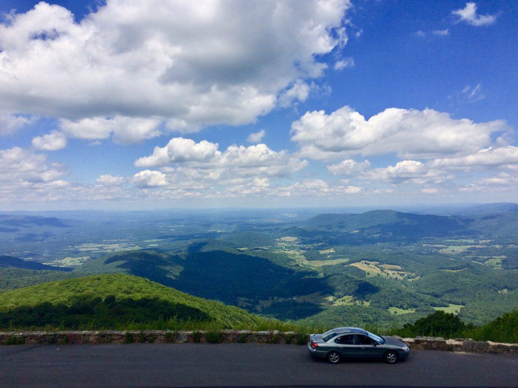 Appalachian trail shenandoah national park