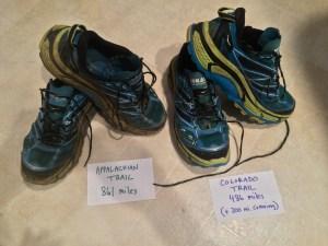 Appalachian Trail Hoka One One Mafate Speed