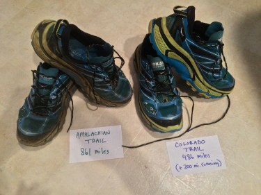 Appalachian Trail Hoka One One Mafate Speed