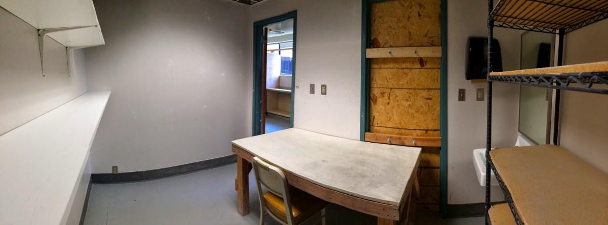 Resident Artist studio at IUS Ceramics