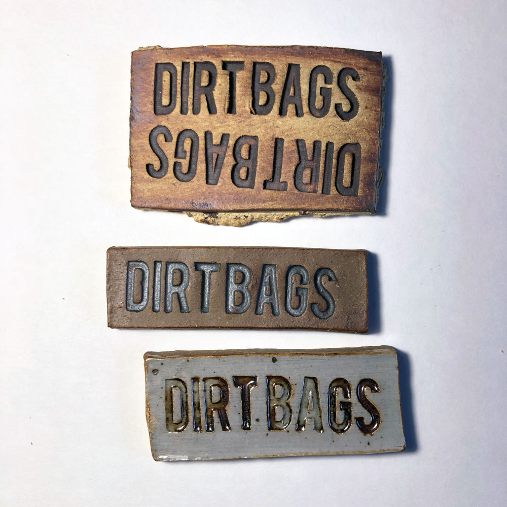 Dirtbags stamps