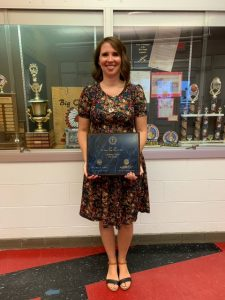 Cassie Titus named Teacher of the Year