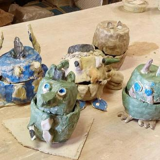 ClayMotion Monster Pots