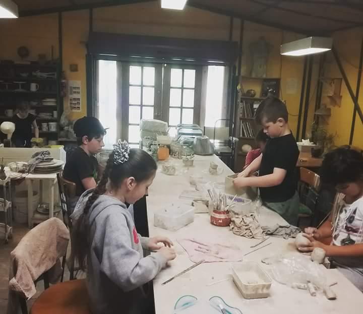 Childrens pottery classes Ballarat Victoria Australia