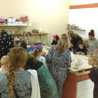 Family Pottery Class ClayMotion Ballarat Victoria