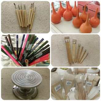 pottery and ceramic supplies