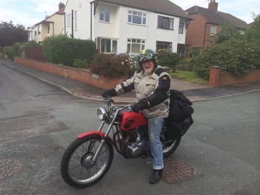 bob on his way