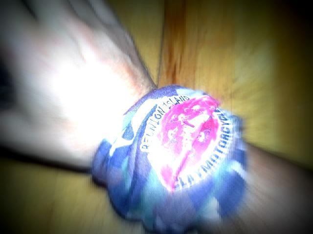 Pratique pour s'essuyer le front quand on fatigue à boire des bières !