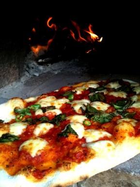 Inaugural pizza night