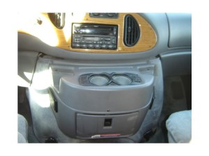 Original Chinook Console with hot and cold cupholders