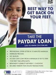 Loan flyer