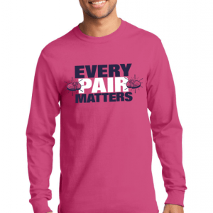 Breast Cancer Long Sleeve Shirts For Clay Shooting - EVERY PAIR MATTERS Fundraising Tees