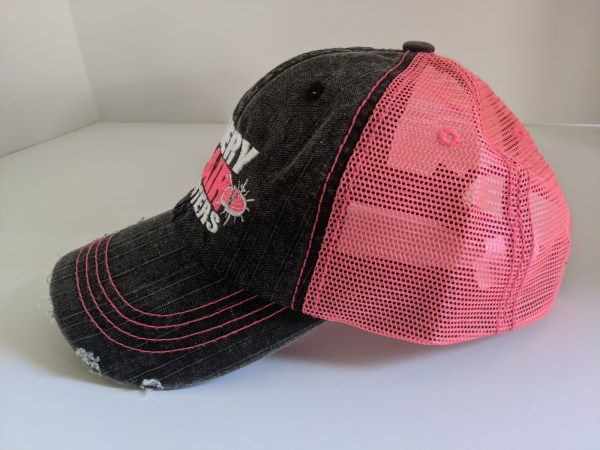Breast Cancer Hats For Clay Shooting - EVERY PAIR MATTERS Breast Cancer Awareness Hats