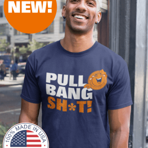 Funny Trap Shooting Shirts - Pull Bang Sh*t! - Laughing Sporting Clays T Shirt
