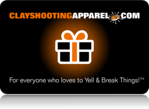 Perfect Gifts for Sport Shooters - Gift Cards - Clay Skeet Trap Shooting Gifts