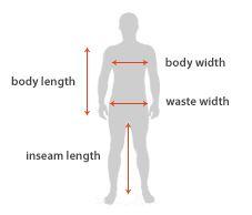 Night Shirt Measurements