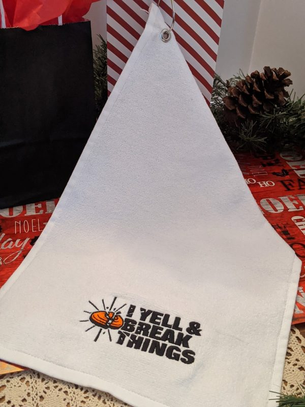 Trap Shooting Towels - Shooters Towel - Sporting Clays Gifts For Shooters