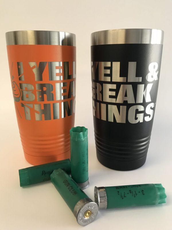Clay Shooting Mug - Sporting Clays Gifts - Shooting Sports Travel Mug