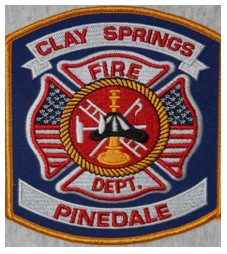 Clay Springs Pinedale Fire Patch About us