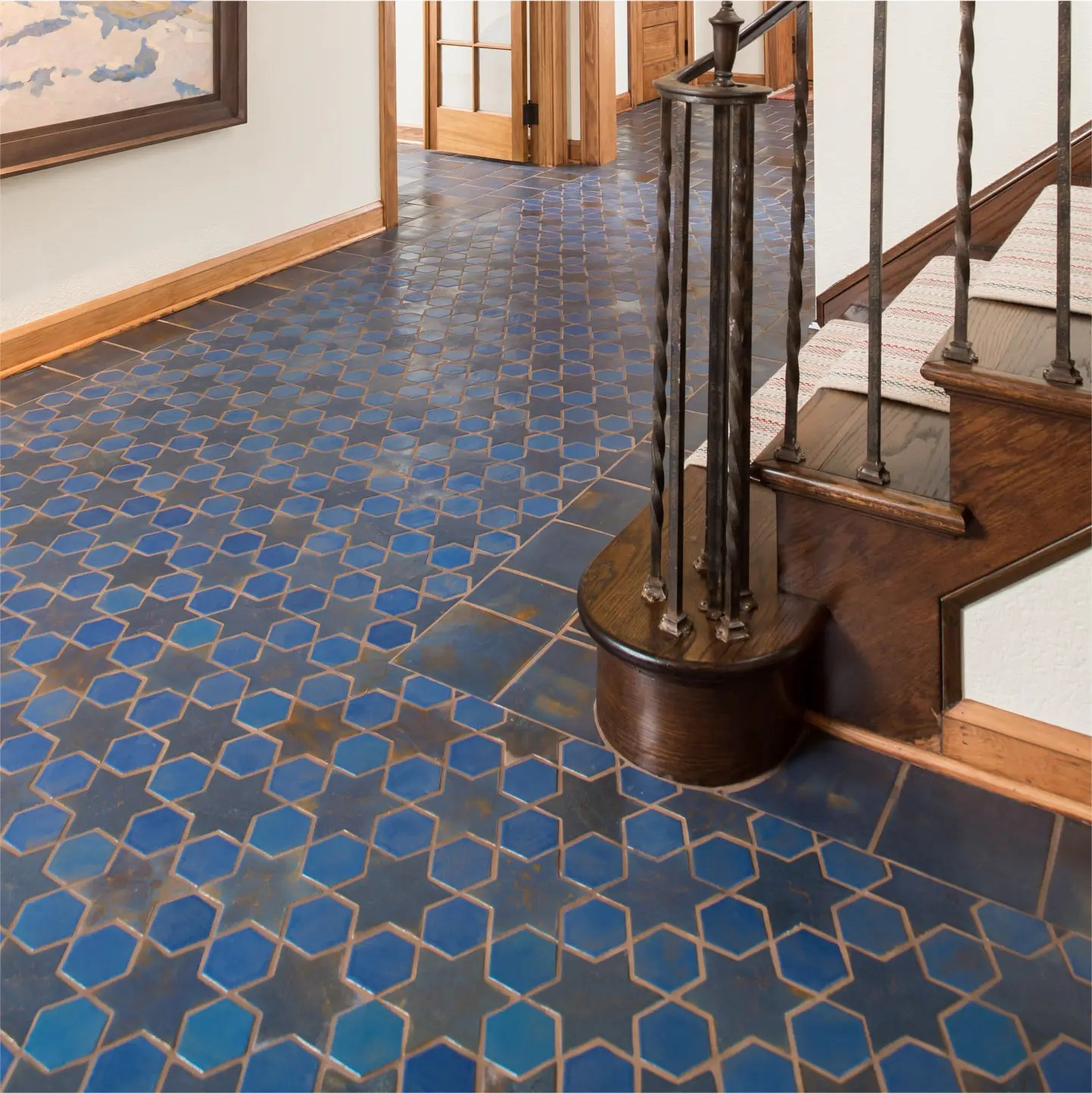 colorful handmade tile made in america
