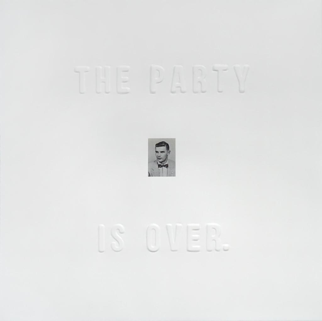 The Party Is Over Clayton Porter Art Artist Artwork Yearbook Fugacious Letterpress